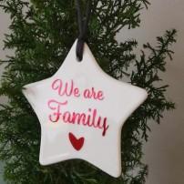 Etoile Noel personnalisée