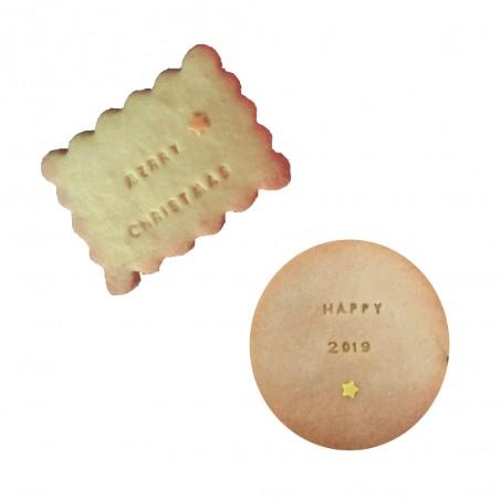Biscuit personnalisé Noël / Nouvel An