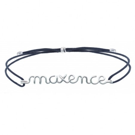 Bracelet  personnalisé - Mot sur cordon
