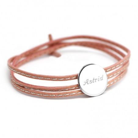 Bracelet personnalisé - Amazone Médaille Argent