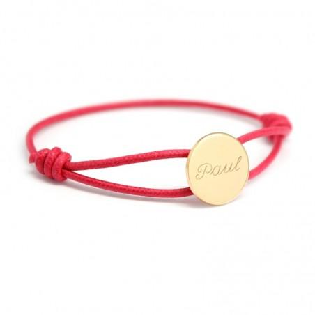 Bracelet personnalisé - Cordon Médaille