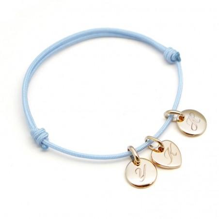 Bracelet personnalisé - Mini Charms Médaille
