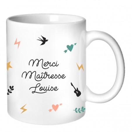 Mug personnalisé - Cadeau Maitresse Collection capsule 2019