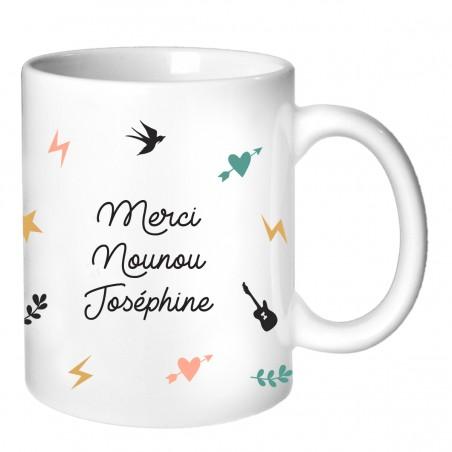 Mug personnalisé - Cadeau Nounou Collection capsule 2019