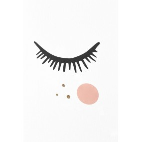 Stickers Big eyes Blush et...