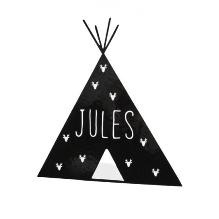 Stickers personnalisable - Tipi