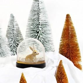 Boule à neige - Lapin