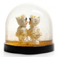copy of Boule à neige - Lapin
