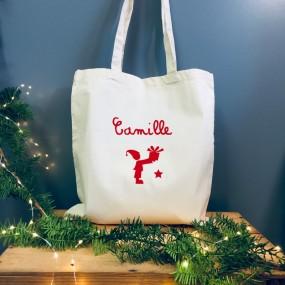 Tote Bag Noël à personnaliser