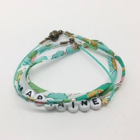 Bracelet perles-lettres...