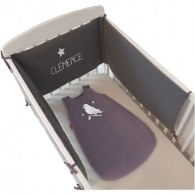 Tour de lit bébé personnalisé