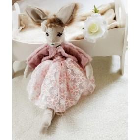 lapine rose-jolie poupee animal