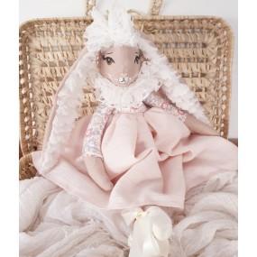 poupee danseuse - lapin rose