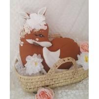 déco animal forêt - renard roux