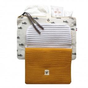 sac a langer coton colore