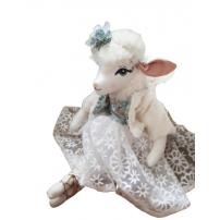 poupee agneau - melodie