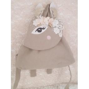 deco theme biche - sac maternelle