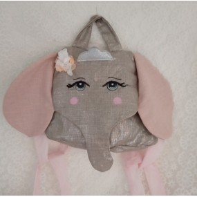 sac coton et lin enfant - joli sac enfant