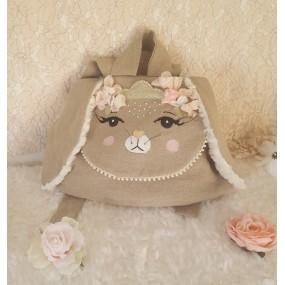 joli sac creche - theme lapin