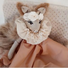 poupee animal foret - poupee habillee