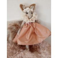 ecureuil fourrure douce - jouet fille doux