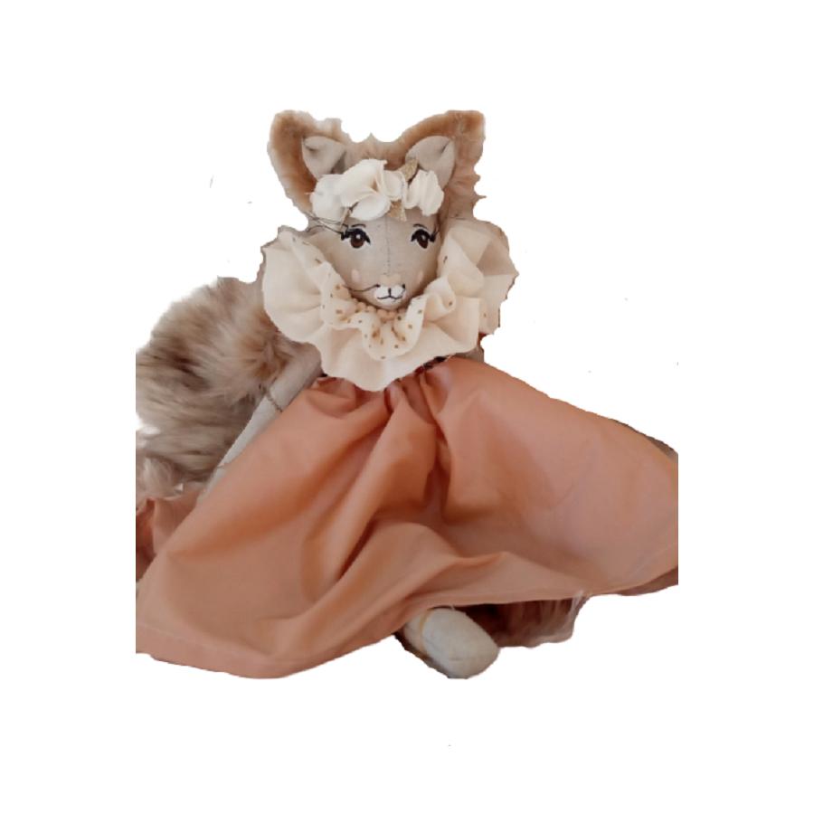 poupee ecureuil - poupee douce