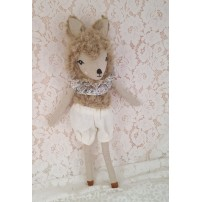 poupee garcon - poupee animal fourrure