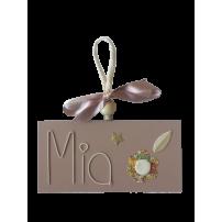 plaque de porte - plaque porte fleur