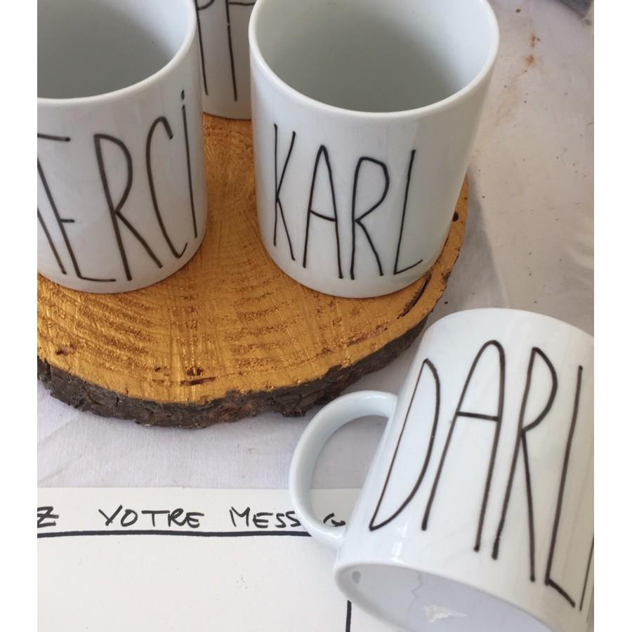 mug personnalise - mug porcelaine personnalise