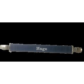 attache serviette prénom - cadeau naissance hugo - cadeau naissance personnalise