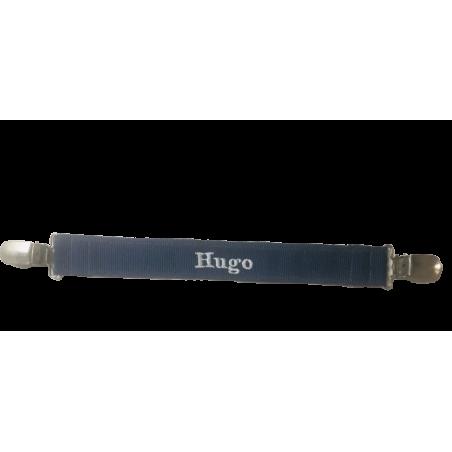 """Attache serviette déjà personnalisé """"Hugo"""""""