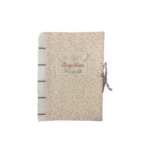 protege carnet de sante personnalise - housse carnet sante - protege carnet sante tissu brode main