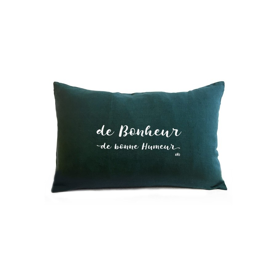 coussin-message