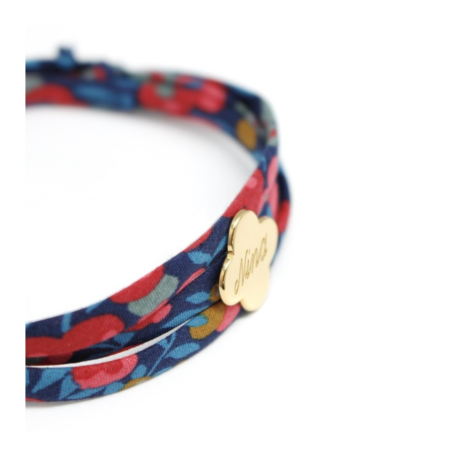 bracelet-liberty-trefle-plaque-or
