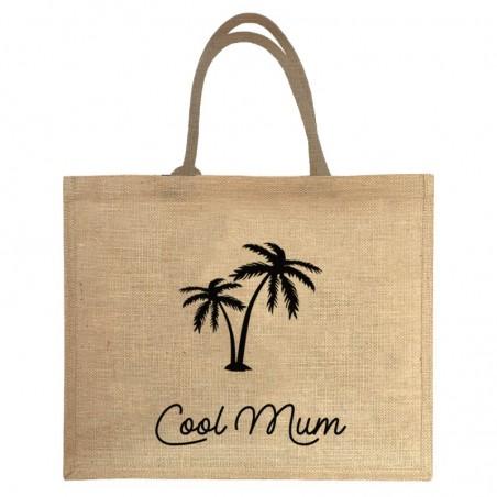 Cabas de plage personnalisé - Cadeau fête des mères