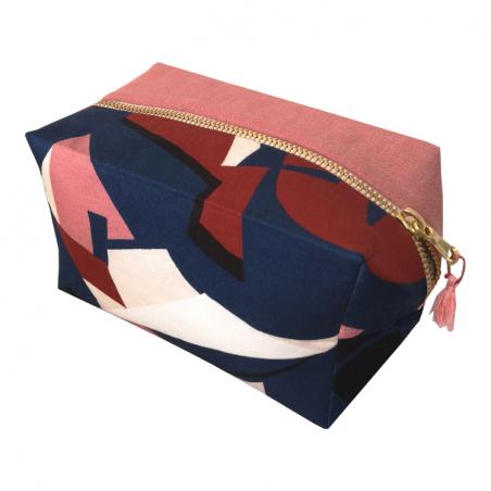 Trousse cube femme personnalisée - Modèle LINA