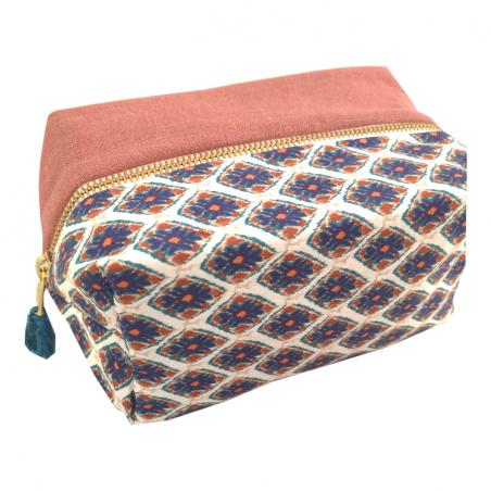 Trousse cube femme personnalisée - Modèle INDIA