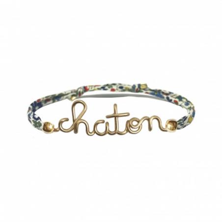 Bracelet personnalisé - Liberty kids