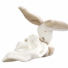 doudou-lapin-doux-gaze-de-coton-polaire-personnalise-fille-garcon