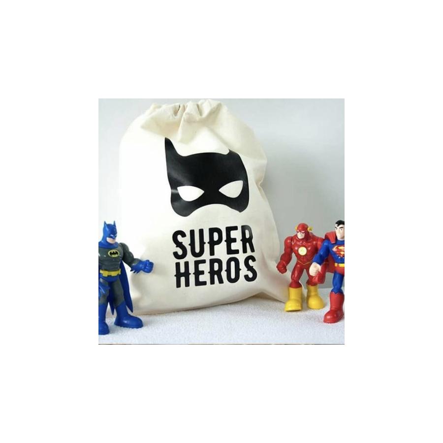 pochon-super-hero-coton-ecologique-enfant-bebe-rangement-cadeau-naissance-personnalise-prenom-made-in-france