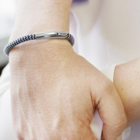 Bracelet homme acier - Le...