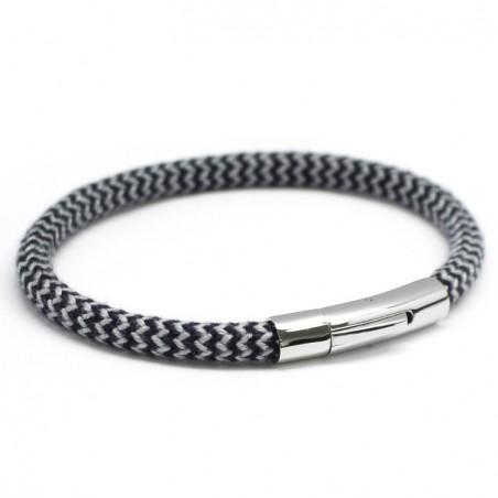 Bracelet homme acier - Le voyageur