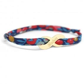 bracelet-infini-plaque-or-personnalise-femme