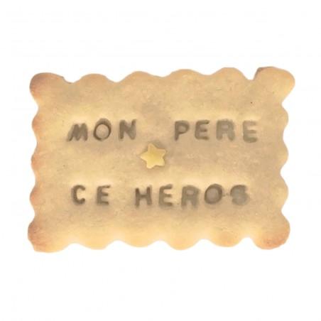 Biscuit personnalisé Fête Des Pères