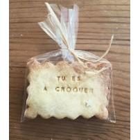Biscuit personnalisé -...