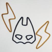 Tricotin - Masque super-héros