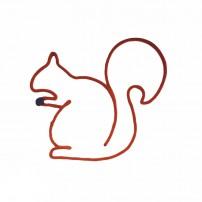 écureuil-tricotin