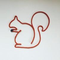 Tricotin - L'écureuil