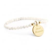 Bracelet perles - Médaille...