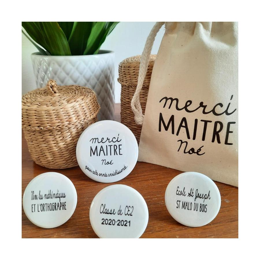 pochon-maitresse-maitre-personnalise-magnets-cadeau-merci